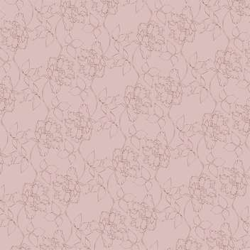Vector vintage background with floral pattern - Kostenloses vector #126597