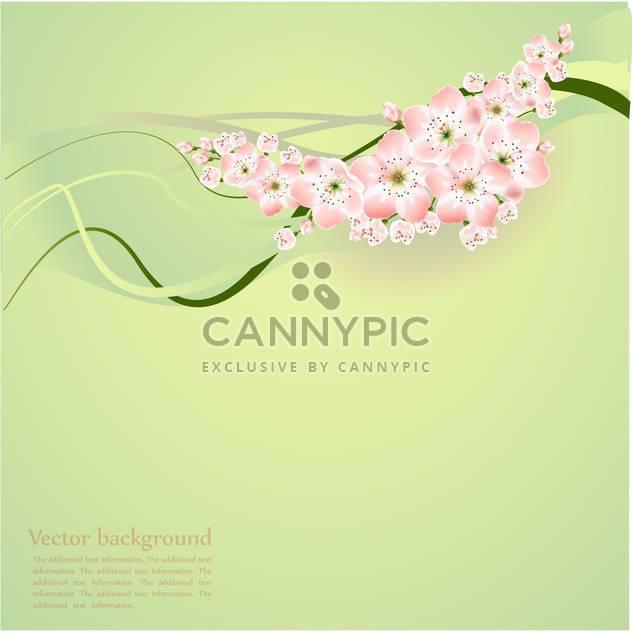 Frühlings-Hintergrund mit schönen Frühlingsblumen - Free vector #127117