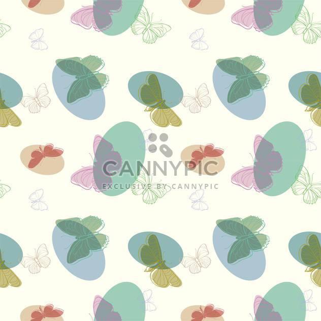 Vektor-Illustration von nahtlosen Schmetterlinge Hintergrund - Kostenloses vector #127307