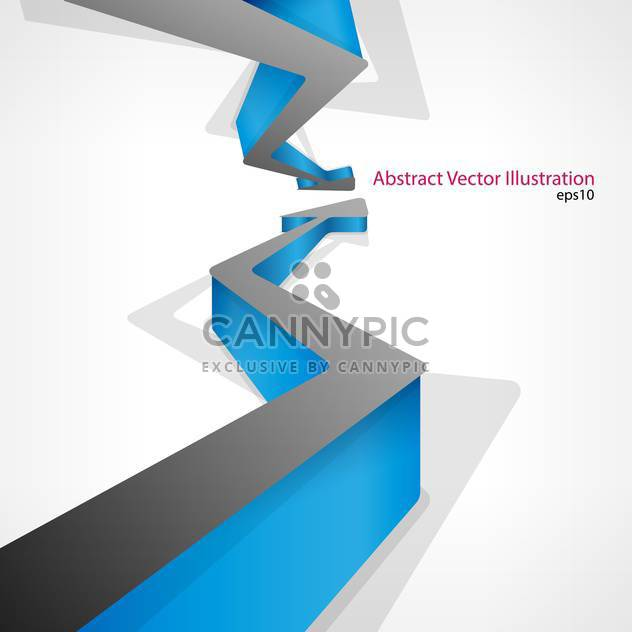 vector illustration of white background with two arrows - Free vector #127757