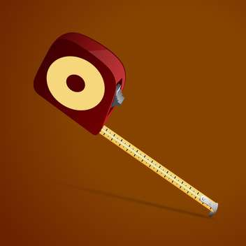 Measure meter vector illustration - Free vector #128187