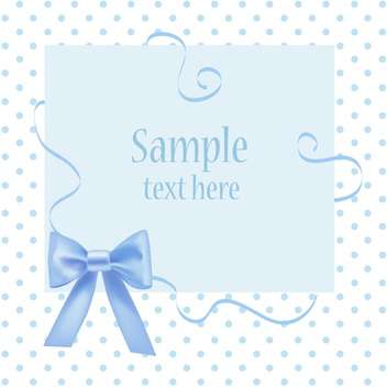 Vector greeting card with place for your text - vector #128457 gratis