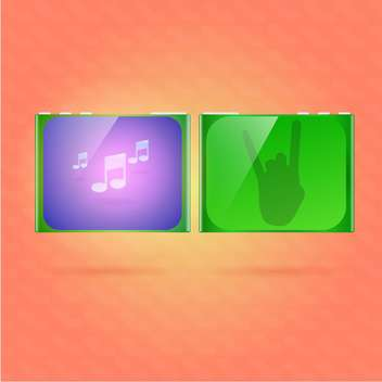 Music player vector illustration - бесплатный vector #128567