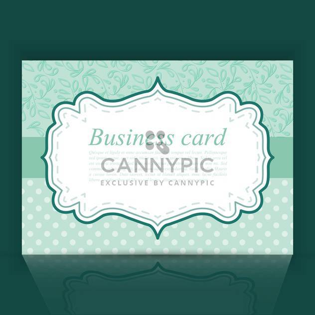 vintage vector invitation frame background - Free vector #129007