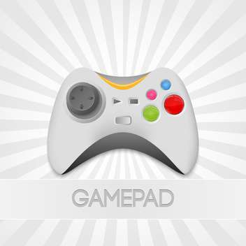 vector game-pad controller Illustration - Kostenloses vector #129097