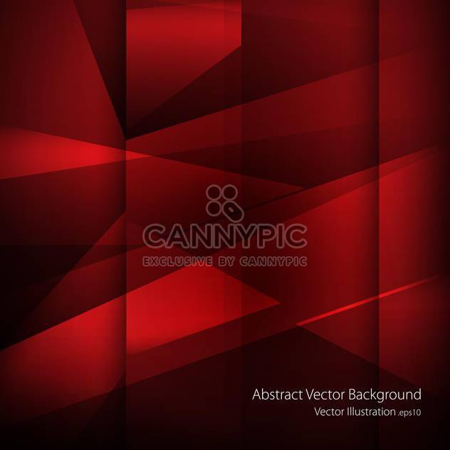 Red vector abstract background - Free vector #129467