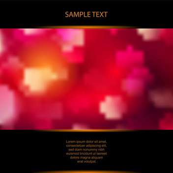 vector abstract blurred red background - Free vector #129757