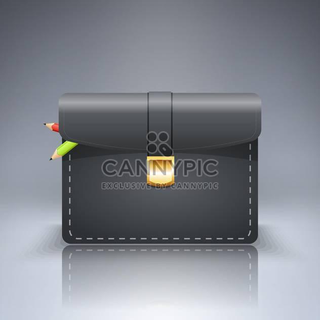 briefcase with pencils vector illustration - Free vector #130517