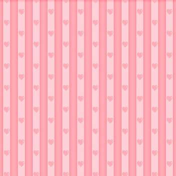Valentine seamless hearts pattern for valentine card - vector gratuit(e) #130807