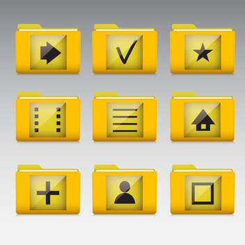 Typical mobile phone apps and services icons - vector #130917 gratis