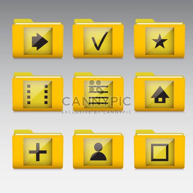 Typische Handy-apps und Dienste-Symbole - Free vector #130917