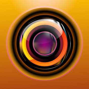 Circle abstract cover web icon - Free vector #130937