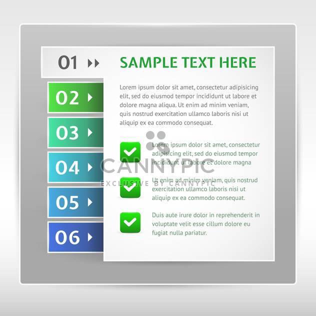 Modernes Design-Vorlage kann verwendet werden für Infografiken - Kostenloses vector #131047