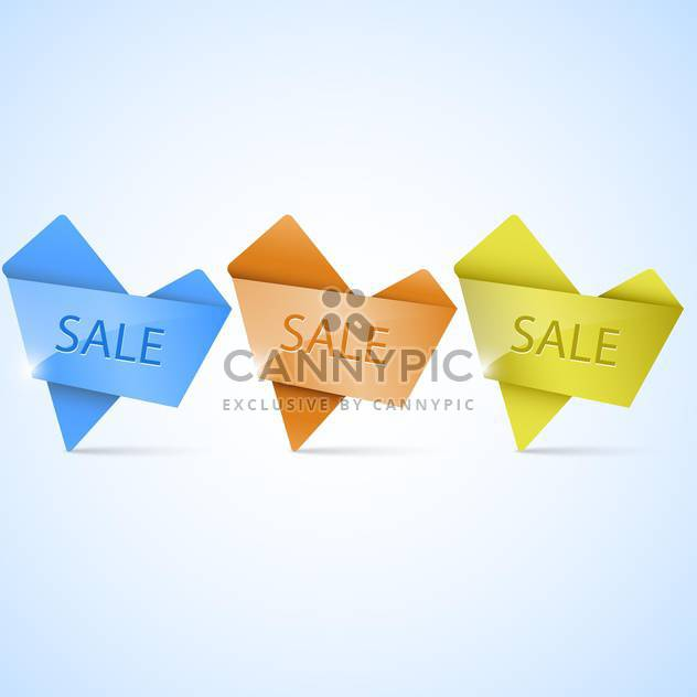 Glossy banners set vector illustration - Free vector #131437