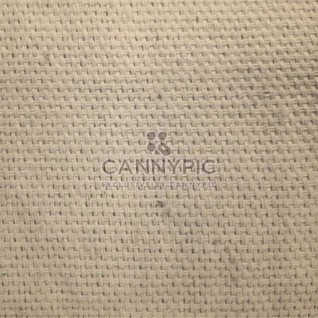 Vector canvas fabric texture - Free vector #131847