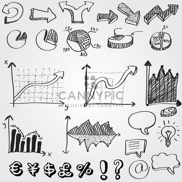 set of business web arrows - Free vector #132577
