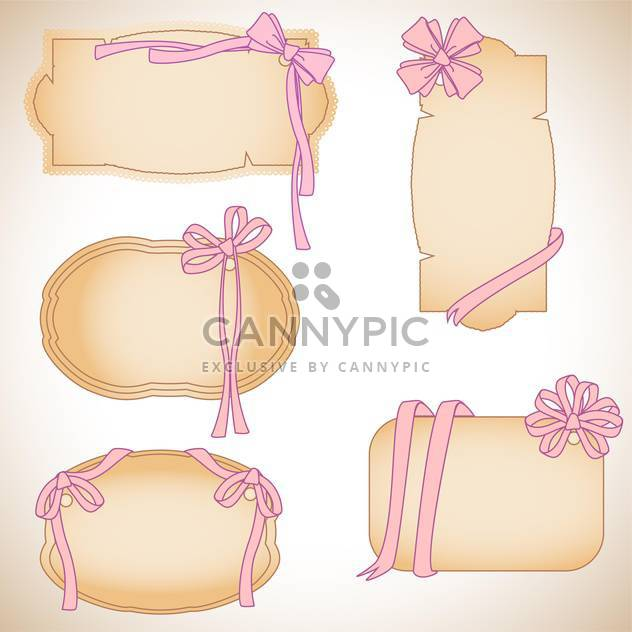 Scrapbook-Vorlagen legen Sie Vektor-illustration - Free vector #132647