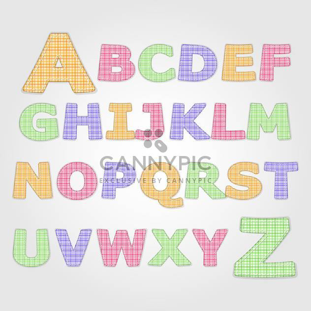 education alphabet vector letters set - Free vector #132697