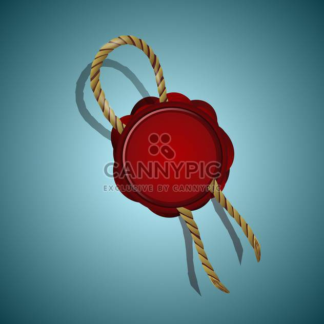 wax seal vector illustration - Free vector #132787