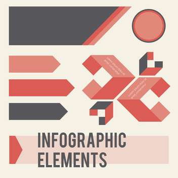 infographic elements vector illustration - Kostenloses vector #133007
