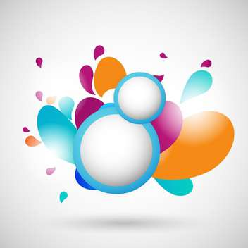 abstract colorful buttons background - Free vector #133167