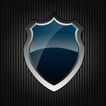 design of shield icon vector illustration - Free vector #133257