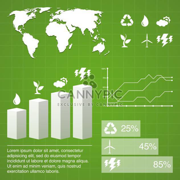 vector elements of business infographics - Free vector #133517