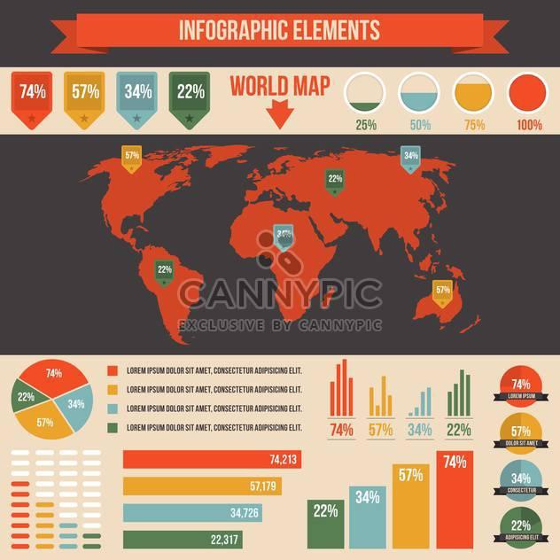 Geschäft Infographik Elemente - Free vector #133537