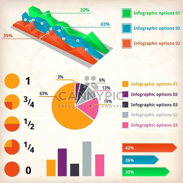 Geschäft-Infografiken-Elemente - Free vector #133657