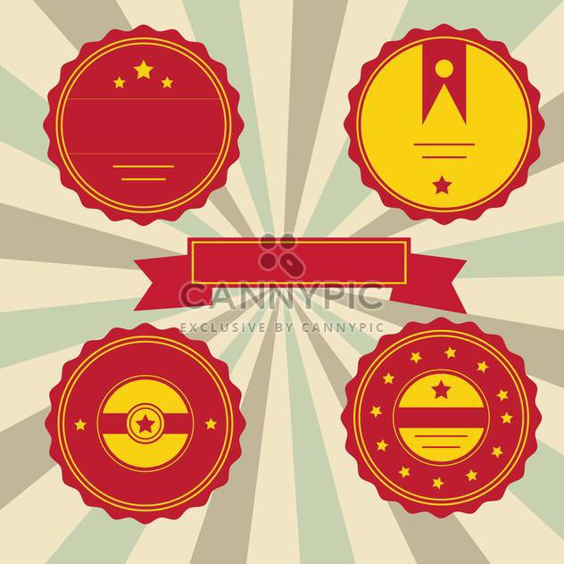 set of vector labels background - Free vector #133797