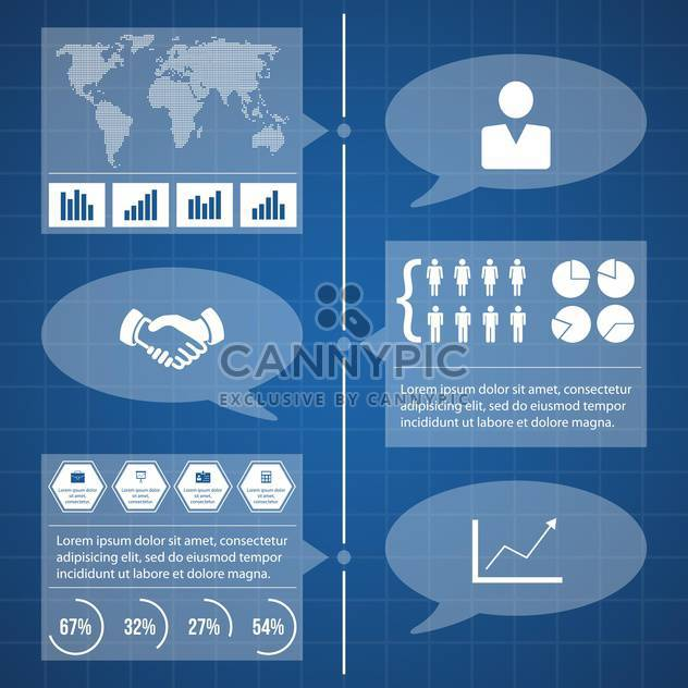 detail infographic vector illustration - Free vector #134037