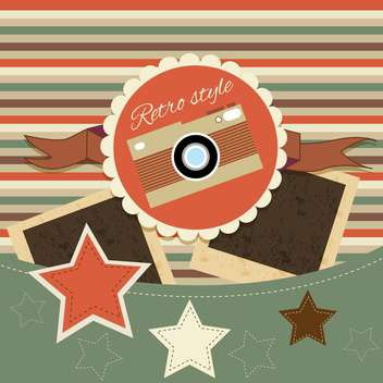 vintage collection photo background - vector gratuit(e) #134237