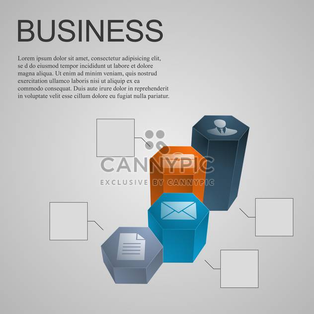 Geschäft-Diagramm-Design-element - Free vector #134257