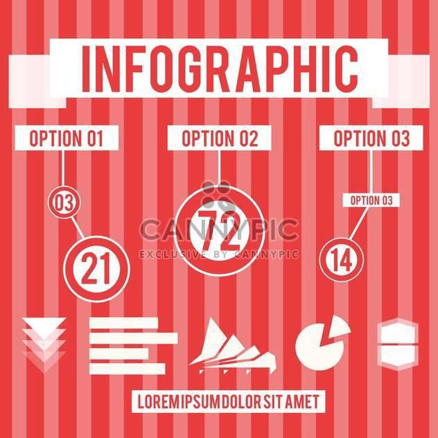 abstract business infographic set - Free vector #134397