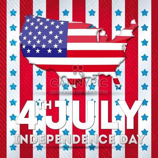 USA-Unabhängigkeitstag-Symbole - Kostenloses vector #134507