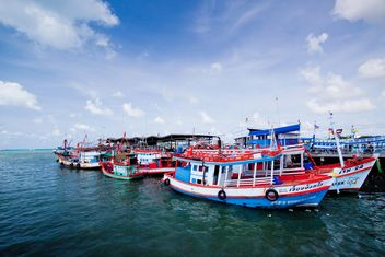 Fishing boats in the port - image gratuit #136327