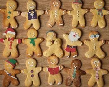 Cute Christmas cookies - image gratuit #136697
