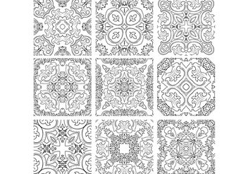 Ornaments - vector #139187 gratis