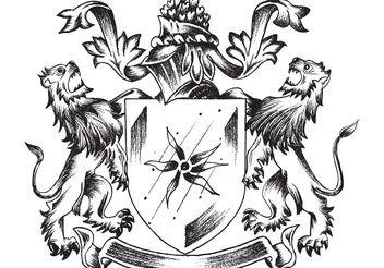 Sketchy Heraldry - бесплатный vector #139357