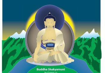 Buddha Shakyamuni - vector gratuit #139577