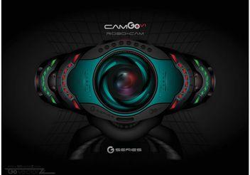 Futuristic Web Cam Vector - Free vector #139907