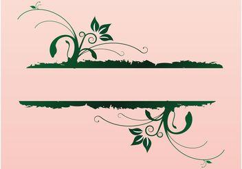 Elegant Nature Banner - бесплатный vector #139927
