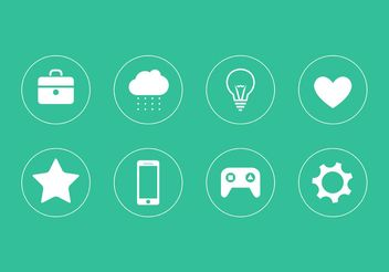 Icon Vector Collection - Free vector #139967