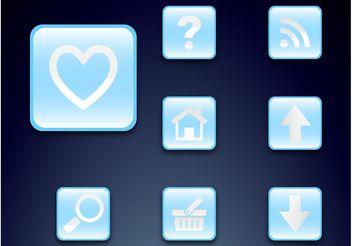 Icon Set - Kostenloses vector #140007