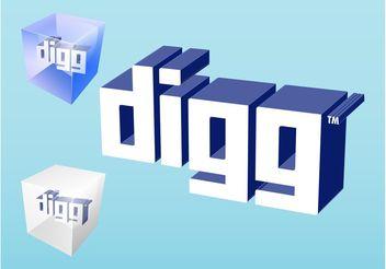 Digg Logo - бесплатный vector #140207