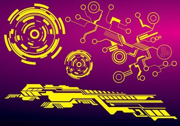 Technology Vector Graphics - Free vector #140407