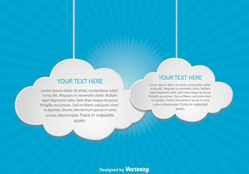 Cloud Computing Illustration - Kostenloses vector #140917