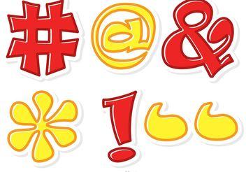 Hashtag Sosial Media Symbol Vector - vector #140987 gratis