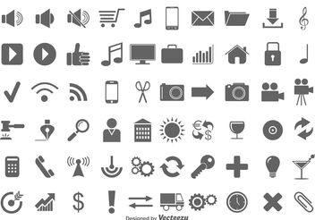Vector Icon Set - Kostenloses vector #141087