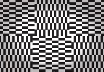 Black And White Checker Board Backgrounds - Free vector #141307